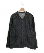 BLACK SIGN(ブラックサイン)の古着「デニムカバーオール」|ブラック
