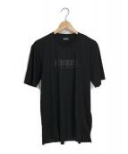 DIESEL(ディーゼル)の古着「バーコードTシャツ」|ブラック