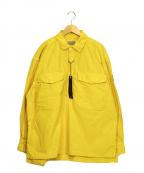 C.E(シーイー)の古着「OVERDYE PULLOVER SHIRT シャツ」|イエロー