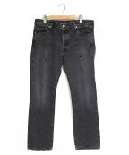 RHC Ron Herman(アールエイチシー ロンハーマン)の古着「Arnold Denim Pants デニムパンツ」|グレー