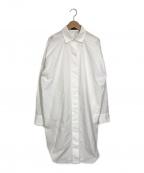 styling/(スタイリング)の古着「スタンダードシャツワンピース」|ホワイト