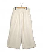 SIMON MILLER(サイモンミラー)の古着「コットンワイドパンツ」|アイボリー