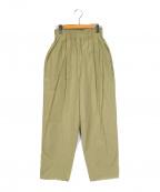 TODAYFUL(トゥデイフル)の古着「Waist Gather Pants」 ベージュ
