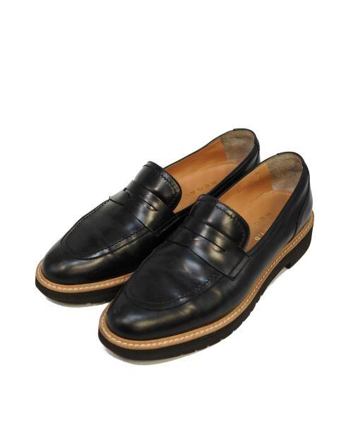 FRAY I.D×REGAL(フレイアイディー × リーガル)FRAY I.D×REGAL (フレイアイディー × リーガル) コインローファー ブラック サイズ:38/24.5cmの古着・服飾アイテム