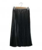 KUMIKYOKU(クミキョク)の古着「コーディオン プリーツスカート」|ブラック