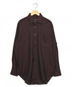 dunhill(ダンヒル)の古着「カシミヤシャツ」|ボルドー