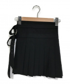 COMME des GARCONS HommePlus(コムデギャルソンオムプリュス)の古着「プリーツスカート」|ブラック