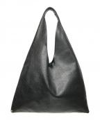 ARRON(アローン)の古着「トライアングルレザーバッグ」 ブラック