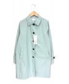 ()の古着「ステンカラーコート」 ペーパーミント