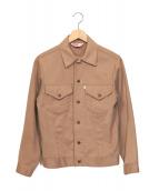 ()の古着「70's コットンツイルトラッカージャケット」 ベージュ
