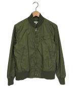 Engineered Garments(エンジニアドガーメンツ)の古着「MA-1ジャケット」 オリーブ