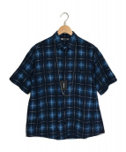 ()の古着「Oldmans Check Denim Necklace S」|ブルー