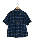 MINEDENIM(マインデニム)の古着「Oldmans Check Denim Necklace S」|ブルー