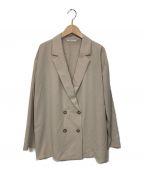 stola.(ストラ)の古着「バサットシャツジャケット」|ベージュ