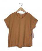 stola.()の古着「後ろゴムコロットブラウス」|オレンジ