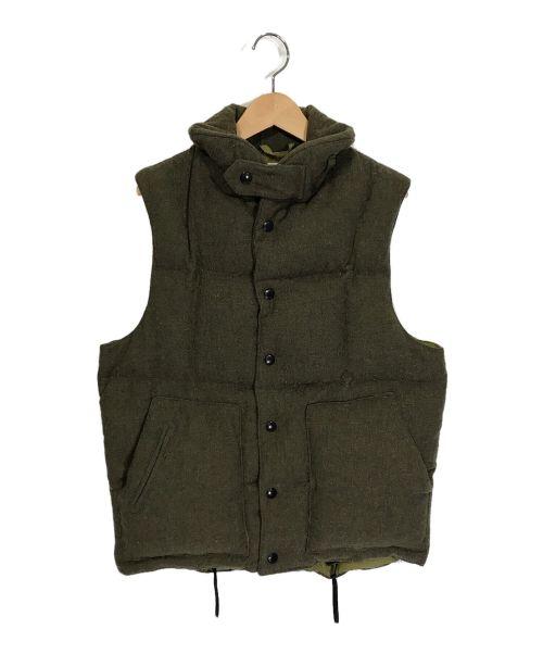 Engineered Garments(エンジニアドガーメンツ)Engineered Garments (エンジニアドガーメンツ) ダウンベスト カーキ サイズ:Sの古着・服飾アイテム