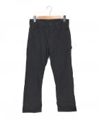 orSlow(オアスロウ)の古着「デニムペインターパンツ」|ブラック