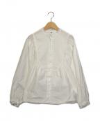IENA LA BOUCLE(イエナ ラ ブークル)の古着「タイプライターレースブラウス」|ホワイト