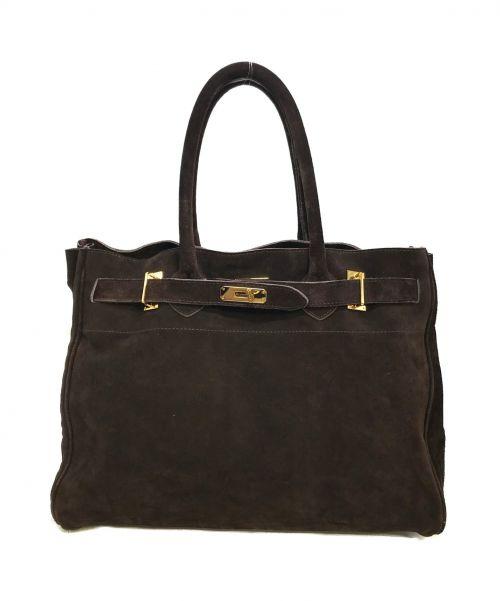 SITA PARANTICA(シータパランティカ)SITA PARANTICA (シータパランティカ) Suede Tote Bag ブラウン サイズ:下記参照の古着・服飾アイテム