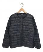 mont-bell(モンベル)の古着「インナーダウンジャケット」|ブラック