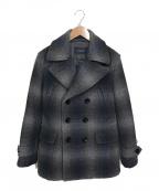 BURBERRY LONDON(バーバリー ロンドン)の古着「Pコート」|グレー