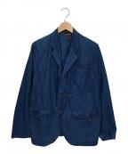 KAPITAL(キャピタル)の古着「ビーチベストドッキングジャケット」|ブルー