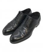 Around The Shoes(アラウンドザシューズ)の古着「ストレートチップシューズ」|ブラック
