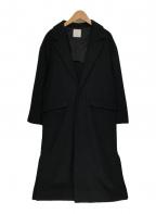 iki(イキ)の古着「チェスターコート」|ブラック
