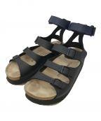 sacai(サカイ)の古着「バンドサンダル」 ブラック×ネイビー