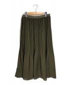()の古着「IDEAL/EMMYスカート」|オリーブ