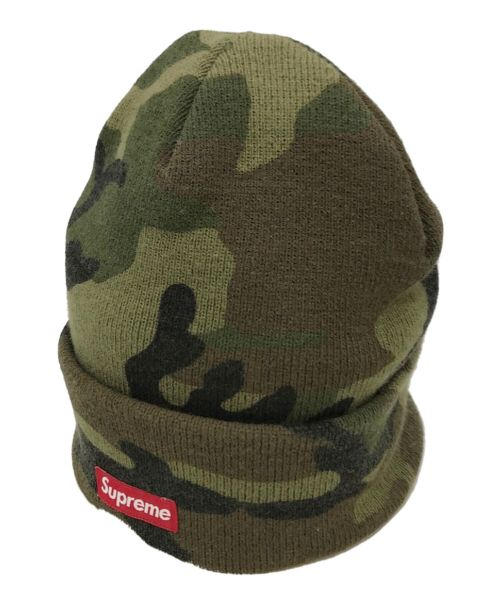 SUPREME(シュプリーム)SUPREME (シュプリーム) Camo Beanie グリーン サイズ:下記参照の古着・服飾アイテム