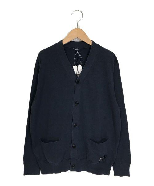 Denham(デンハム)Denham (デンハム) Vネックカーディガン ネイビー サイズ:Mの古着・服飾アイテム