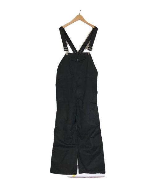 is-ness(イズネス)is-ness (イズネス) コットンオールインワン ブラック サイズ:ONESIZEの古着・服飾アイテム