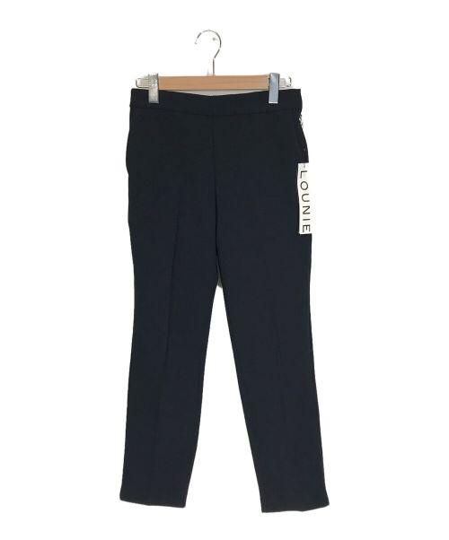 LOUNIE(ルーニィ)LOUNIE (ルーニィ) テーパードパンツ ネイビー サイズ:40の古着・服飾アイテム