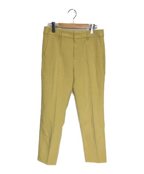LOUNIE(ルーニィ)LOUNIE (ルーニィ) テーパードパンツ イエロー サイズ:40 未使用品の古着・服飾アイテム