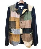 COMME des GARCONS SHIRT(コムデギャルソンシャツ)の古着「ジャケット」|ミックスネイビー