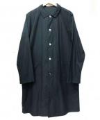 RINEN(リネン)の古着「ステンカラーコート」|ブラック