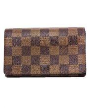 LOUIS VUITTON(ルイ ヴィトン)の古着「2つ折り財布」|ブラウン