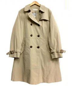 KUMIKYOKU(クミキョク)の古着「ダウンライナートレンチコート」|ベージュ