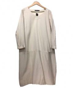 22 OCTOBRE(ヴァンドゥーオクトーブル)の古着「ワンピース」 ベージュ