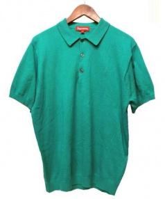 SUPREME(シュプリーム)の古着「Knit Polo Shirt ニットポロシャツ」|グリーン