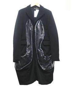 COMME des GARCONS(コムデギャルソン)の古着「切替ジャケット」|ブラック