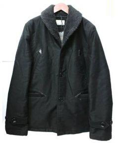 COOTIE(クーティー)の古着「ジャングルクロスカーコート」 ブラック