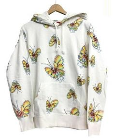 Supreme(シュプリーム)の古着「Gons Butterfly Hooded」|ホワイト