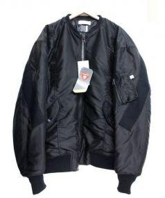 FACETASM(ファセッタズム)の古着「ビッグMA-1ジャケット」 ブラック