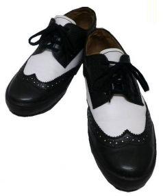 COMME des GARCONS×PINGLE MOVE(コムデギャルソン×スピングルムーブ)の古着「ウィングチップシューズ」 ホワイト×ブラック