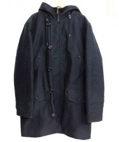 A.P.C.(アーペーセー)の古着「裏ボアフーデッドコート」|ブラック