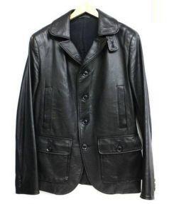YohjiYamamoto pour homme(ヨウジヤマモトプールオム)の古着「レザージャケット」|ブラック