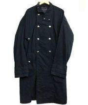 LEMAIRE(ルメール)の古着「比翼トレンチコート」|ブラック