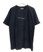 YOHJI YAMAMOTO×NEW ERA(ヨウジヤマモト×ニューエラ)の古着「反転ロゴTシャツ」 ブラック